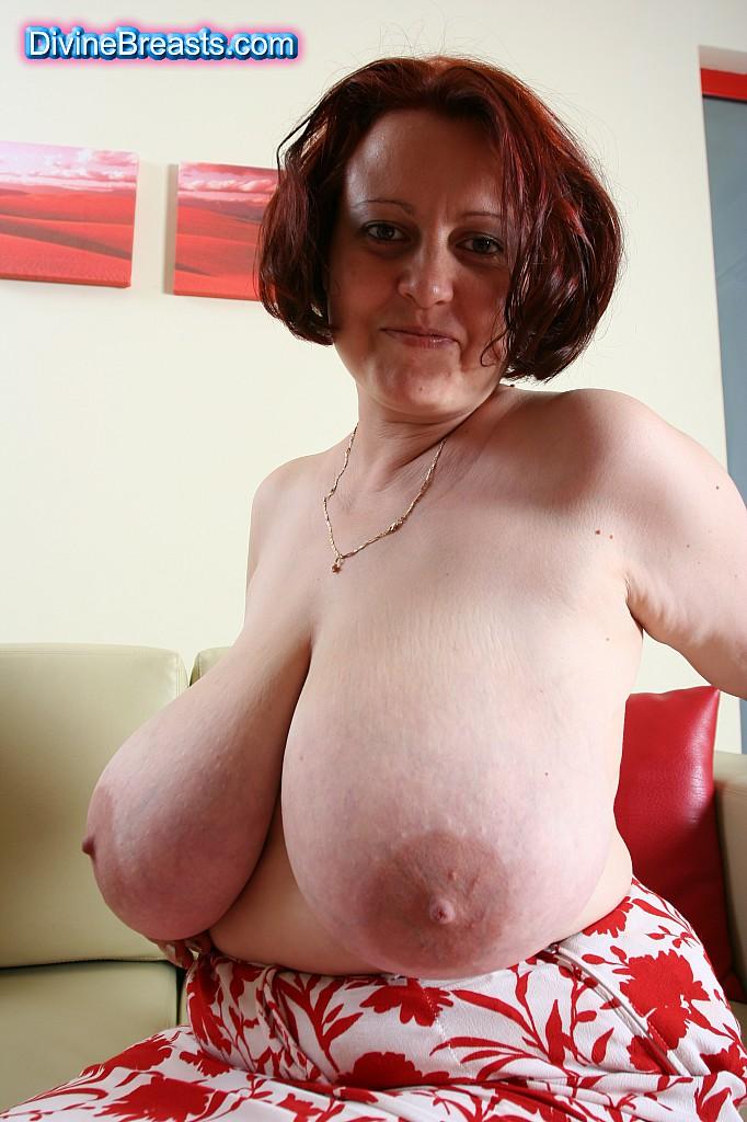 Breast granny divine