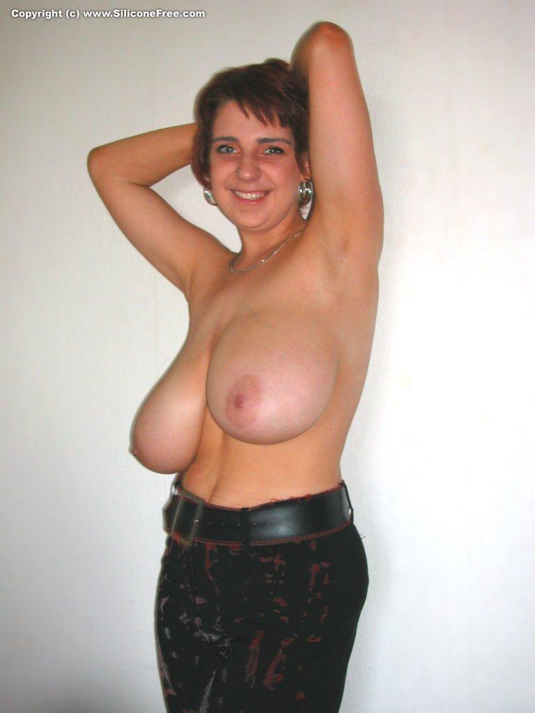 Big huge natural tits boobs tease 3