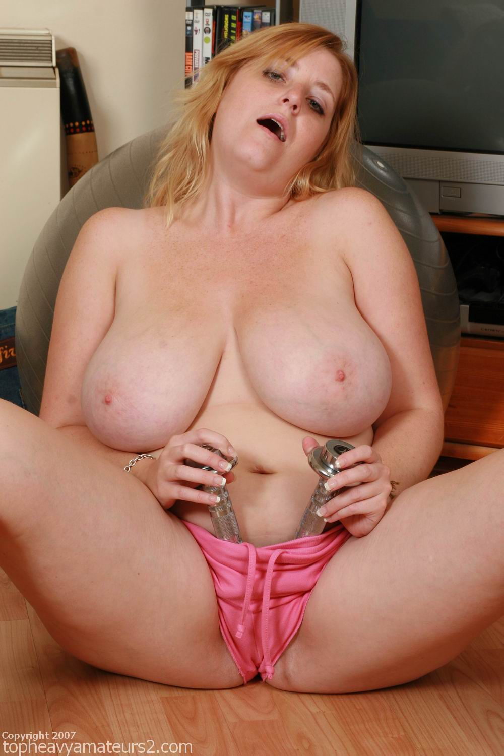 petitte girls with big boobs from Top Heavy Amateurs Image
